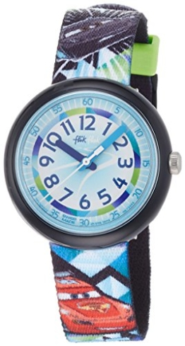 Flik Flak Disney Cars Rapid Racing Kinderuhr FLNP022 -