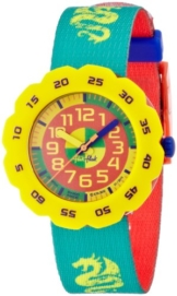 Flik Flak Pres-Cool Boy in Spring Green Kinderuhr FPSP004 -