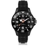 Ice-Watch Unisex-Armbanduhr Analog Quarz Silikon SI.BK.M.S.13 -