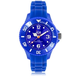 Ice-Watch Unisex - Armbanduhr Ice Forever Analog Quarz Silikon SI.BE.M.S.13 -