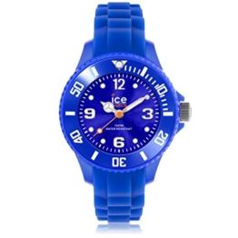 Ice-Watch Unisex - Armbanduhr Ice Forever Analog Quarz Silikon SI.BE.M.S.13 -