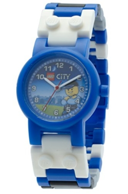 LEGO City Kinder-Armbanduhr Analog Quarz Mehrfarbig 8020028 -