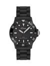 s.Oliver Unisex-Armbanduhr Medium Size Silikon schwarz SO-2290-PQ -