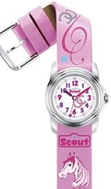 Scout Mädchen-Armbanduhr Analog Quarz Kunstleder 280301022 -