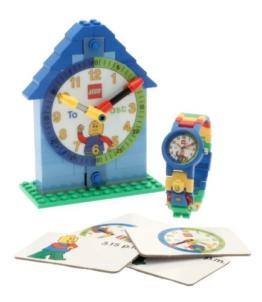LEGO Zeit Lehrer Kinderarmbanduhr und Uhren Junge -