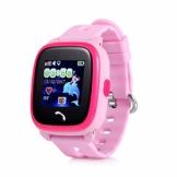 JBC GPS-Telefon Uhr Wasserdicht OHNE Abhörfunktion, für Kinder, SOS Notruf+Telefonfunktion, Live GPS+LBS Positionierung, funktioniert weltweit, Anleitung + App + Support auf deutsch - 1